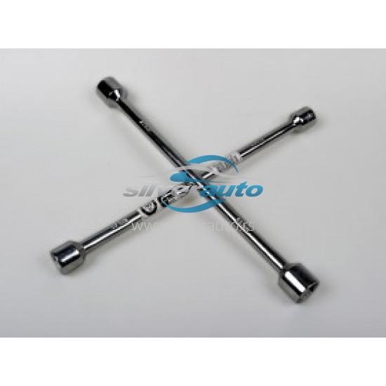 Ključ za točkove krstasti - Obavezna auto oprema (najpovoljnije cene www.silverauto.rs)