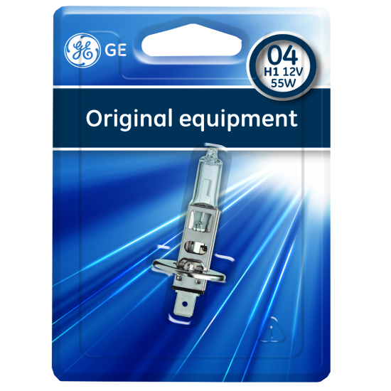 Auto sijalica 12v H1 55w General Electric - General Electric sijalice (najpovoljnije cene www.silverauto.rs)