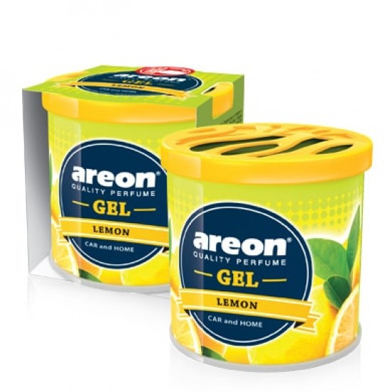 KONZERVA AREON GEL Lemon - Auto osveživači (najpovoljnije cene www.silverauto.rs)