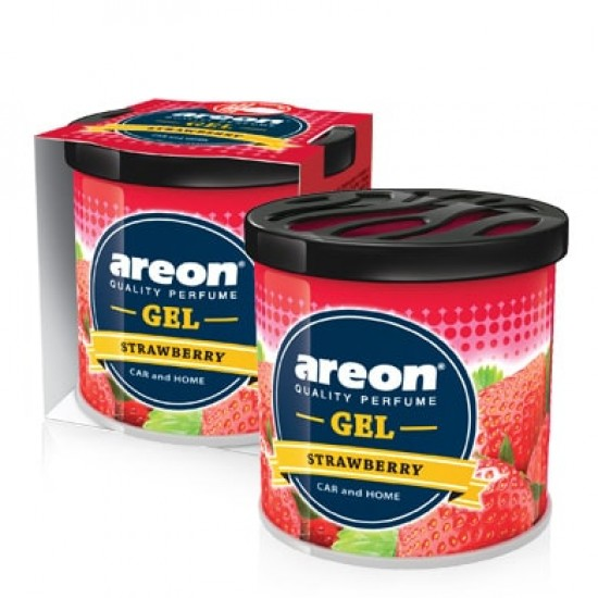 KONZERVA AREON GEL Strawberry - Auto osveživači (najpovoljnije cene www.silverauto.rs)