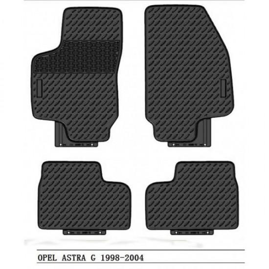 Gumene  patosnice  Opel Astra G - Tipske gumene patosnice (najpovoljnije cene www.silverauto.rs)