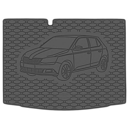 gepek patosnice ŠKODA Fabia III Hatchback 2014- - Patosnice za gepek (najpovoljnije cene www.silverauto.rs)