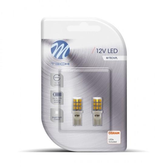 Auto sijalica Led LB021w M-tech /cena za par sijalica/ - Led sijalice (najpovoljnije cene www.silverauto.rs)