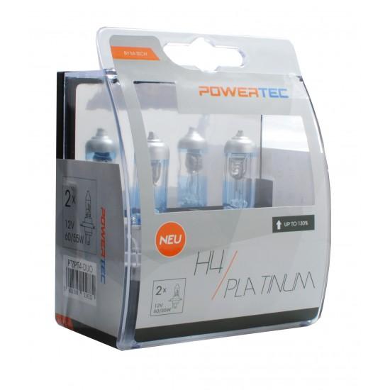 Auto sijalica Powertec Platinum +130 H4 12V /cena za par sijalica/ - Powertec Platinum (najpovoljnije cene www.silverauto.rs)