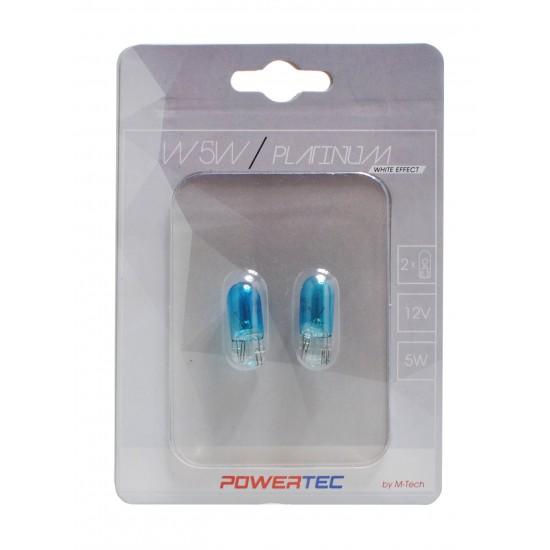Powertec W5W 12v /cena za par sijalica/ - Powertec Platinum (najpovoljnije cene www.silverauto.rs)