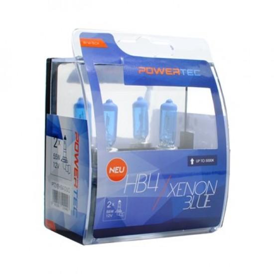 Auto sijalica Powertec Xenon Blue HB4/cena za par sijalica/ - Powertec Xenon Blue (najpovoljnije cene www.silverauto.rs)