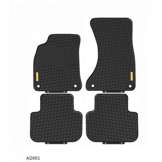 Gumene patosnice Audi A4 2008-2015 - Tipske gumene patosnice (najpovoljnije cene www.silverauto.rs)