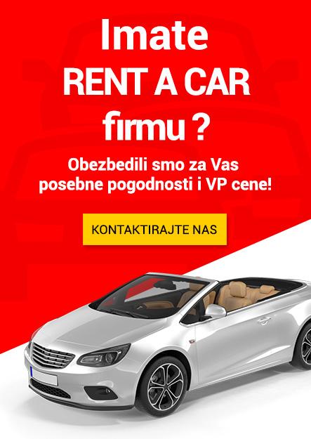 Imate RENT A CAR firmu? KONTAKTIRAJTE NAS!