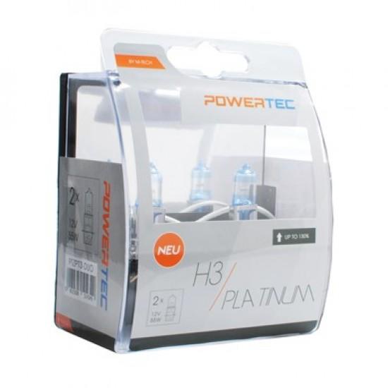 Auto sijalica  Powertec Platinum H3 /cena za par sijalica/ - Powertec Platinum (najpovoljnije cene www.silverauto.rs)