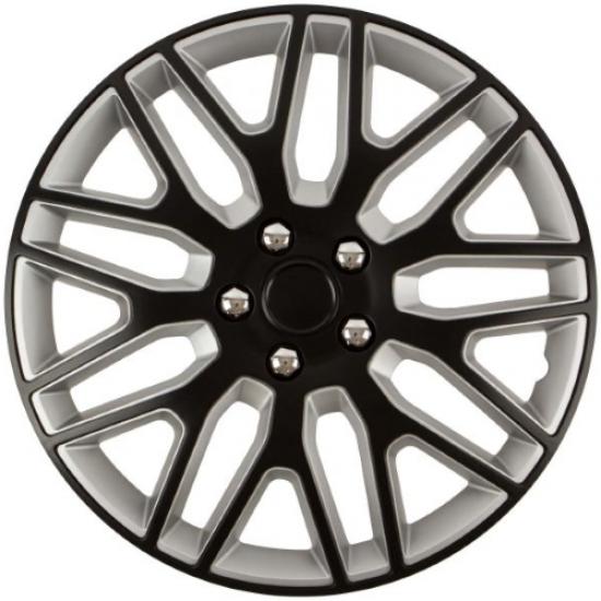 Ratkapne 14″ Dakar NC Black & Silver (ABS) - Ratkapne 14 (najpovoljnije cene www.silverauto.rs)