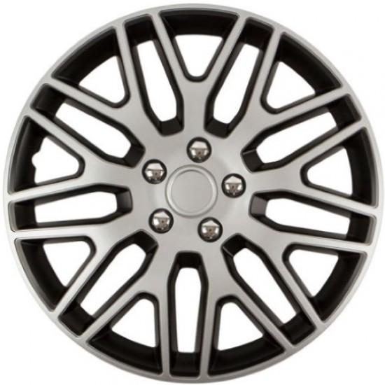 Ratkapne 14″ Dakar NC Silver & Black (ABS) - Ratkapne 14 (najpovoljnije cene www.silverauto.rs)