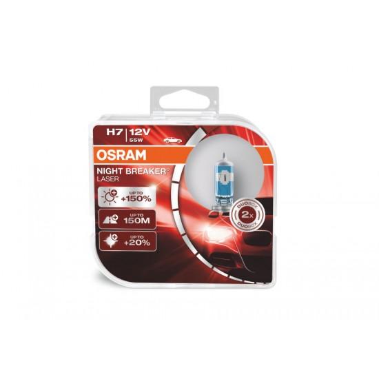 Auto sijalica Osram 12VH7 Night Breaker Laser - Osram sijalice (najpovoljnije cene www.silverauto.rs)