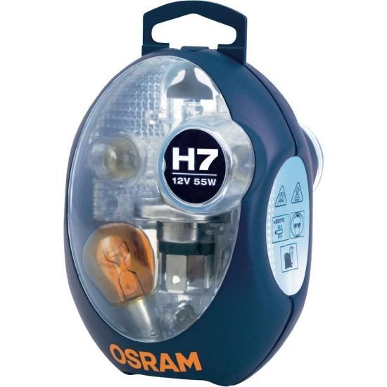 Komplet sijalica OSRAM 12V H7 EURO - Osram sijalice (najpovoljnije cene www.silverauto.rs)