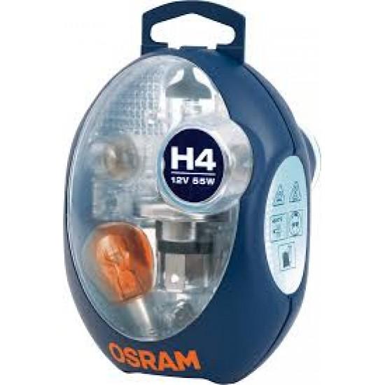 Komplet sijalica OSRAM 12V H4 EURO - Osram sijalice (najpovoljnije cene www.silverauto.rs)
