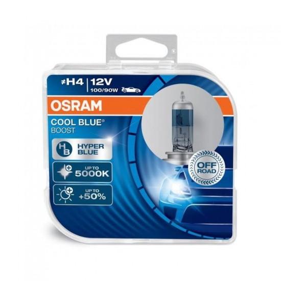 Auto Sijalica H4 12V OSRAM Cool Blue Boost - Osram sijalice (najpovoljnije cene www.silverauto.rs)