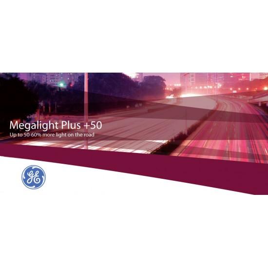 Auto sijalica 12V H7 Megalight +50 General Electric /cena za par sijalica/ - General Electric sijalice (najpovoljnije cene www.silverauto.rs)