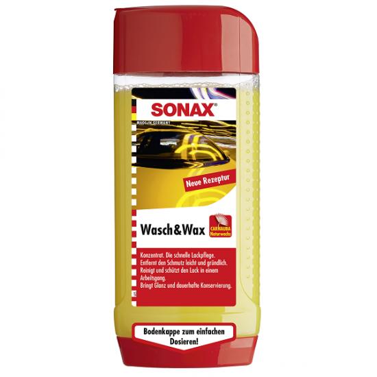 Sonax sampon+vosak 500ml - Auto kozmetika Sonax (najpovoljnije cene www.silverauto.rs)