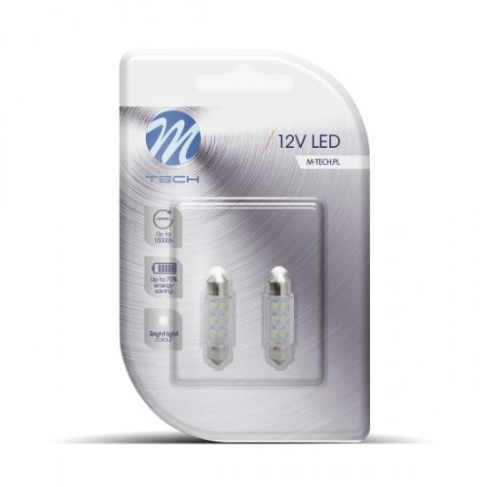 Auto sijalica LED LB023W M-tech /cena za par sijalica/ - Led sijalice (najpovoljnije cene www.silverauto.rs)