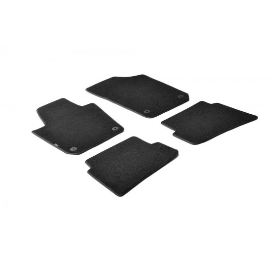 Tepih patosnice Seat Ibiza od 2008-2016 - Tipske tepih patosnice (najpovoljnije cene www.silverauto.rs)