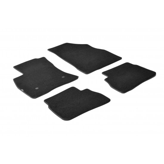 Tepih patosnice Fiat Doblo od 2010 Carera - Tipske tepih patosnice (najpovoljnije cene www.silverauto.rs)