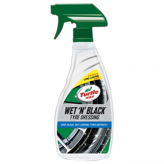 Wet  N  Black 500ml - Auto kozmetika Turtle Wax (najpovoljnije cene www.silverauto.rs)