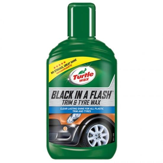 Polir za gume i plastiku Turtle Wax 300ml - Auto kozmetika Turtle Wax (najpovoljnije cene www.silverauto.rs)