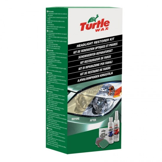 Headlight Lens Restorer Kit - Auto kozmetika Turtle Wax (najpovoljnije cene www.silverauto.rs)