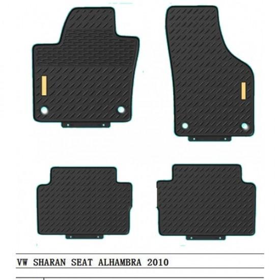 GUMENE PATOSNICE VW SHARAN OD 2010 - Tipske gumene patosnice (najpovoljnije cene www.silverauto.rs)