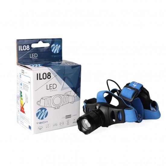 Led Baterijska Lampa IL08 M-tech - Baterijske lampe (najpovoljnije cene www.silverauto.rs)